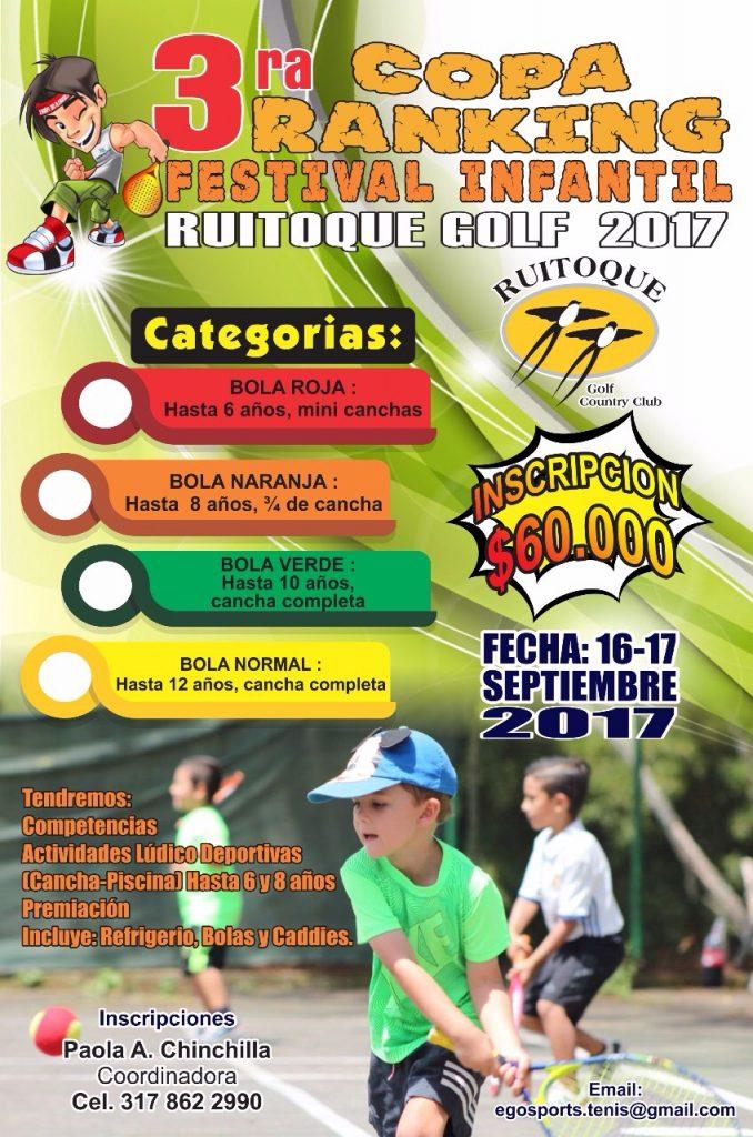 Afiche 3er Festival Infantil 2017